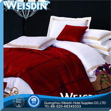 top grade new design embroidery lace linen bed sheet bed cover