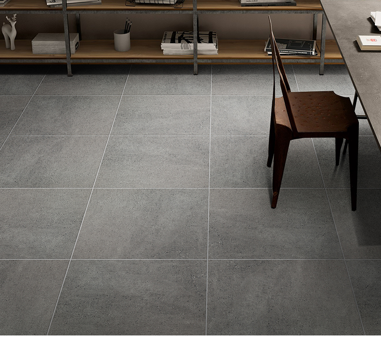 2018 coffee restaurant non-slip north europe style cement rustic grey floor tile