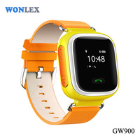 WONLEX top selling personal wrist watch GPS+LBS+SOS+GSM smallest hidden gps tracker