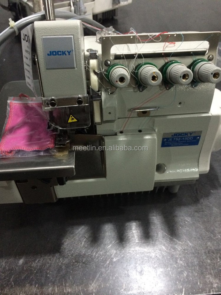 JK752-13DD Ultra high speed direct-drive 4 thread overlock sewing machine