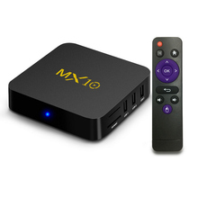 Hot Design 4k MX10 tv box 4gb ram 32gb rom android 8.1. tv box rk3328 with USB 3.0 MX10 TV BOX