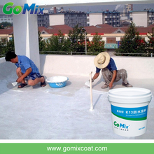Building waterproofing coating for concrete roof
