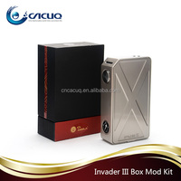 2017 cacuq offer Authentic Tesla Invader 3 Box Mod 240W support RDA RTA,Tesla Invader III VS H-PRIV in stock