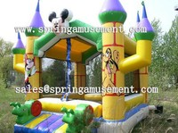 nice design mickey mouse inflatable bounce house for sale SP-IB034