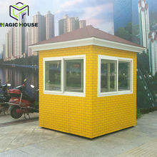 High Quality and hot portable security booth for sale,Outdoor Security Guard House