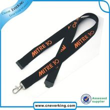 Trade Assurance satin ribbon lanyard from china market from manufacturer