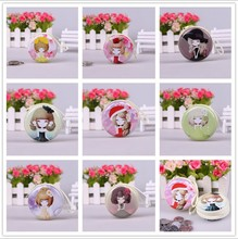 High Quality Lovely Round Coin Purse/mini Earphone Case