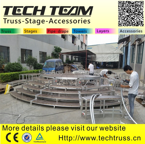 2014 Successful Case New Design Fashion Show Stage Decorations