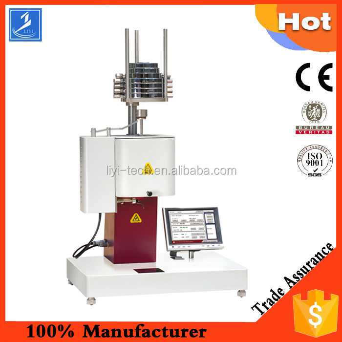 Rubber and Plastic Melt Flow Rate Testing Machine