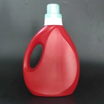 wholesale household use red1000ml plastic liquid laundry detergent bottle