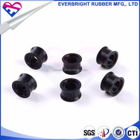 Factory custom molded oval plug rubber stopper plug