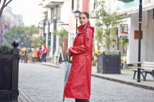 ZhongXu factory hot sale high quality factory price heavy duty long raincoat