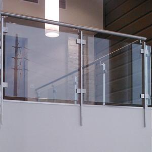 Modern Stainless Steel Outdoor Glass Fence/ Balcony Glass Railing Design