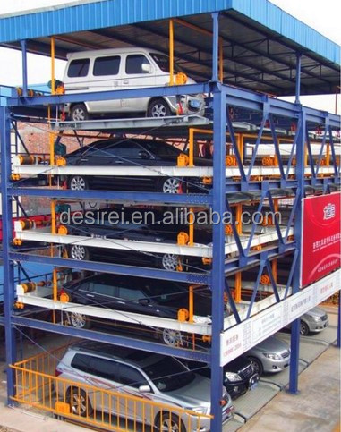2015 Puzzle Garage Mechanical vertical automatic multi level intelligent parking system