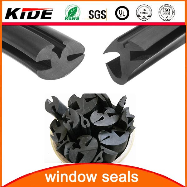 Best price China rubber black double glazing seals