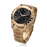 Newest Brand New T2 Bluetooth Smart Watch Wristwatch men stainless steel watches For all Smart Phone
