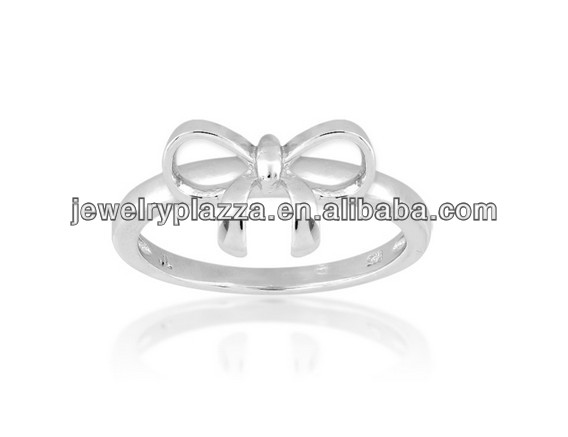 2014 New Arrival 925 Sterling Silver Bow Ring