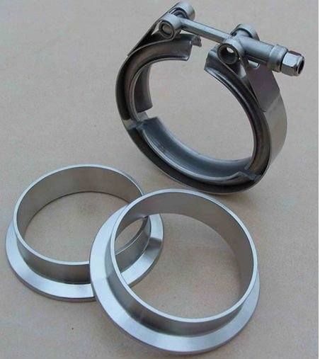 TS16949 quick release stainless steel V band clamps