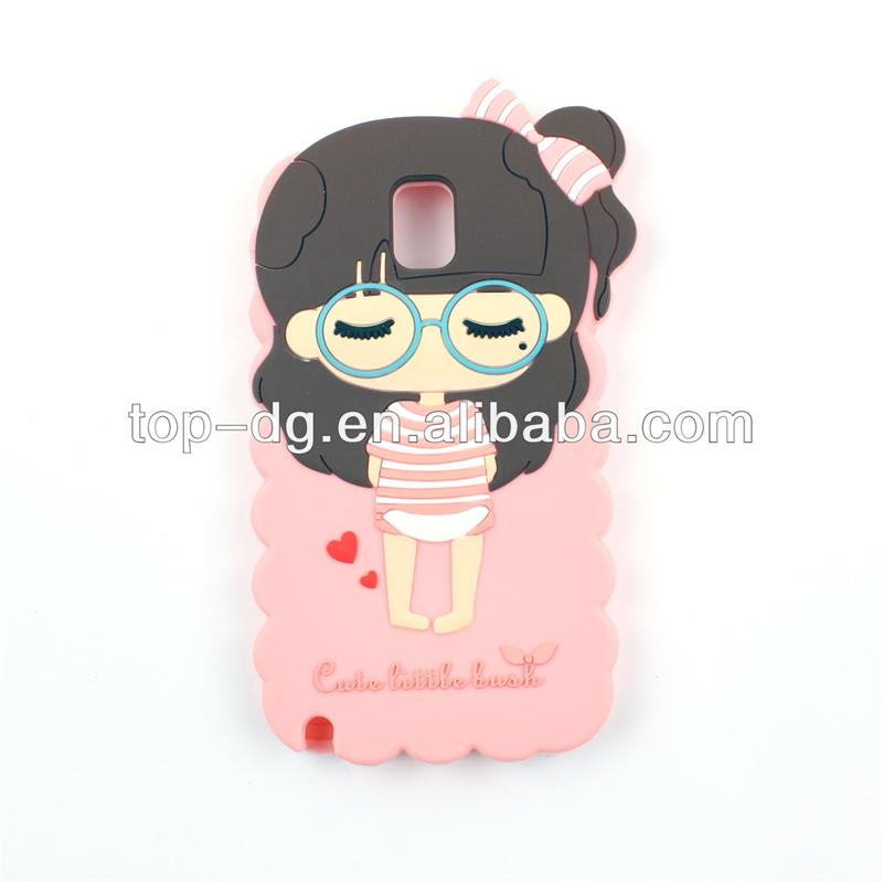 Silicon High Quality 3D Promotional Mobile Phone Case