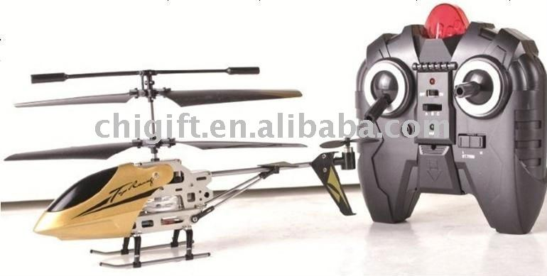 Super Crash-Resistant 3CH Metal Gyroscope RC Helicopter