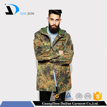 Daijun oem high quality hot sale woodland winter polyester fashion hiking military men jackets