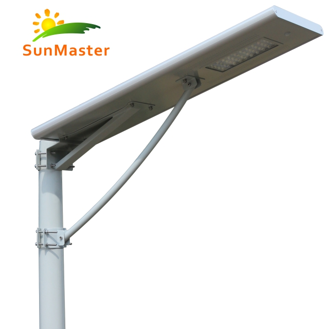 Hot selling high Lumen outdoor led all in one solar street light