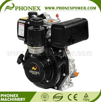 Small Portable 7HP 4 stroke 1 cylinder air cooled Diesel Engine price