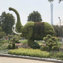 Outdoor garden decoration fake boxwood artificial topiary animal