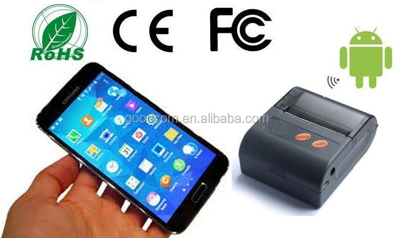 2014 New Update 2inch Portable Thermal Printer support USB, RS232, Bluetooth