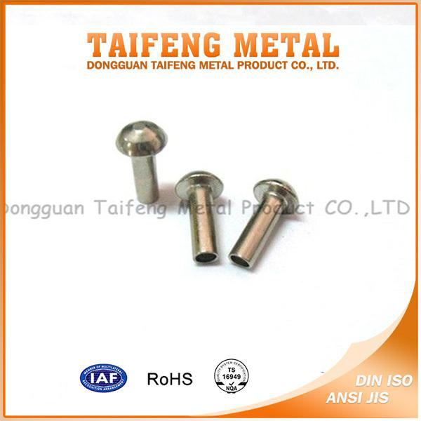 low price galvanized carbon steel mushroom head rivet