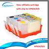 refillable cartridges for hp934 935 refill ink cartridges for hp935 with arc