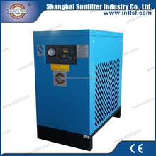 electric clothes air dryer with refrigerated compressed air dryer