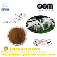 100% Natural Black Cohosh P.E.powder,black cohosh side effects,Triterpenoid Saponins Powder