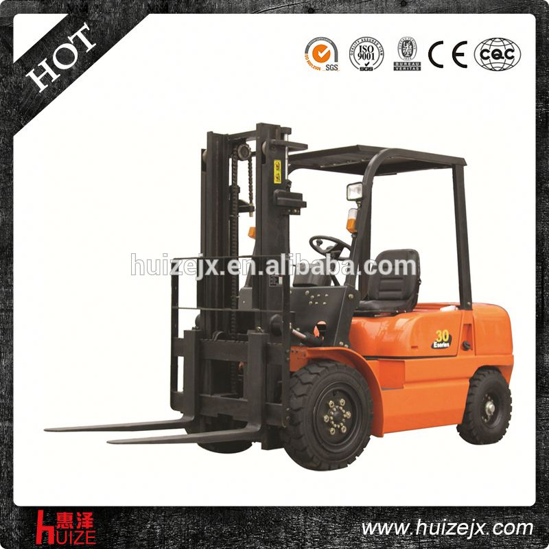4 wheel 1/1.5/1.8/2/2.5/3/3.5 ton small Diesel Forklift