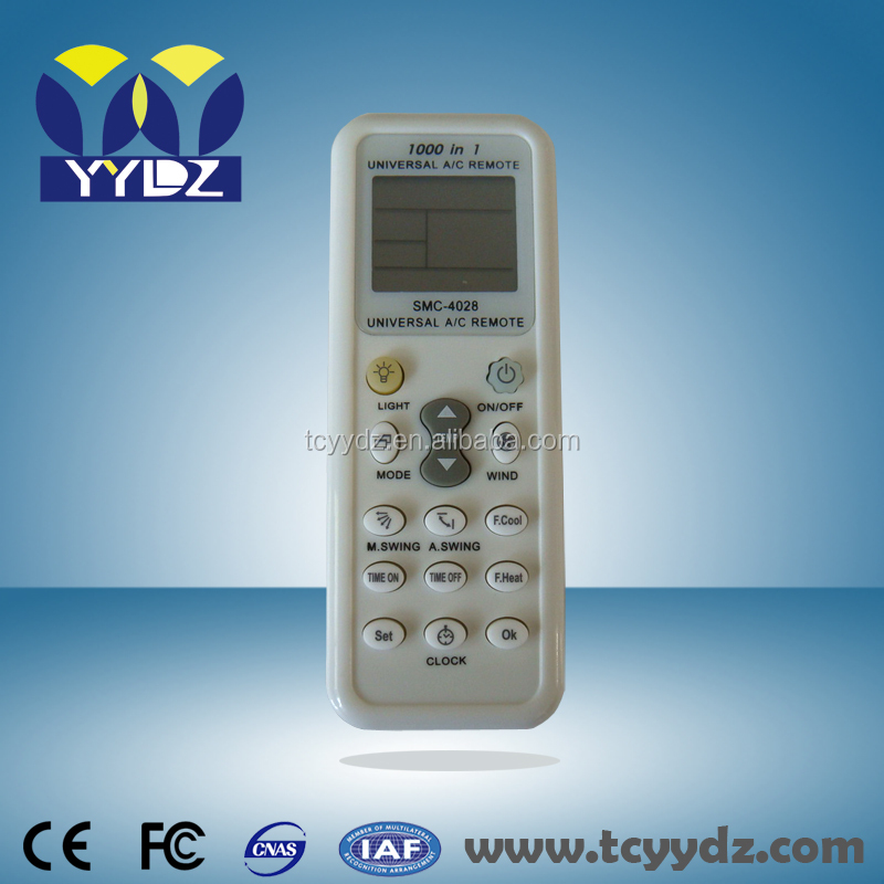 universal air conditioner remote control k-1028e <strong>1000</strong> in 1