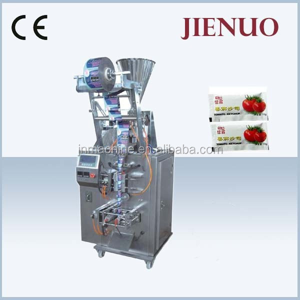 CE Approved Vertical Automatic Price Tomato Sauce Packing Machine