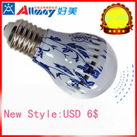 Top quality customized half spiral energy saving light bulbs
