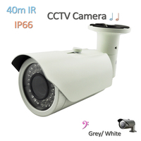 4-9mm or 2.8-12mm lens Sony Effio 40M IR Waterproof Camera CCTV