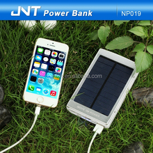 fast chargeing Fashionable 9000mah solar power bank with CE,ROHS ,FCC