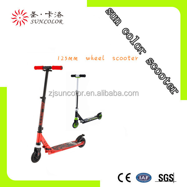 Full aluminum scooter tuning with 125MM wheel and good quality