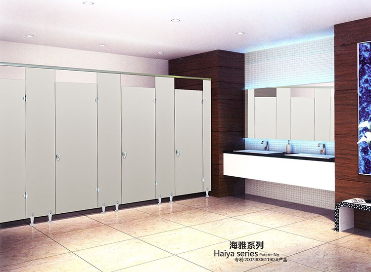disabled toilet accessories hpl panel toilet partition High Pressure Laminate