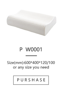 Comfortable bone  shape 100 latex foam rubber pillow