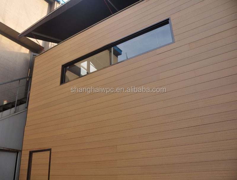 (150x16mm) Exterior wood plastic composite wall cladding