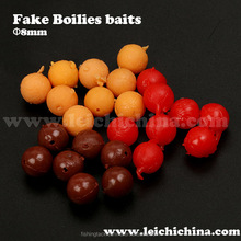 Flavored pop up carp fishing boilies bait