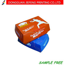 paper packaging box fried chips and popcorn chicken box Disposable paper take away food boxes