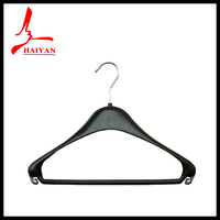wall wood hangers plastic bag with hanger hole