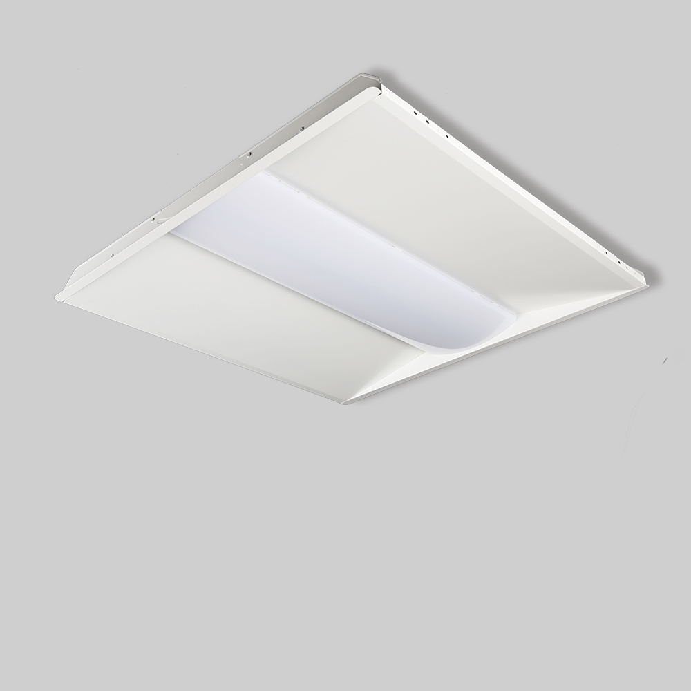High Quality Dimmable surface mounted ceiling mounted DLC premiuim standard LED Troffer panel light