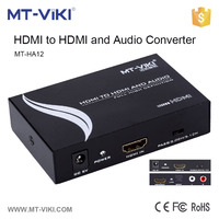 MT-HA12 hdmi audio extractor digital to analog converter analog video to hdmi converter