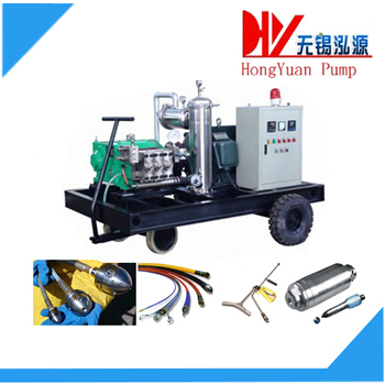 mobile high pressure water cleaning machine