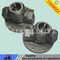 316 stainless steel chemical industry used anti-corrosion fabrication valve body made in Qingdao